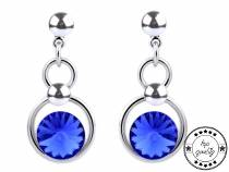 Dangle Earrings with Swarovski Elements Rivoli