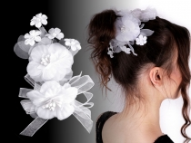 Flower Brooch / Wedding Hair Accessory