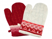 Christmas Kitchen Oven Glove with Magnet